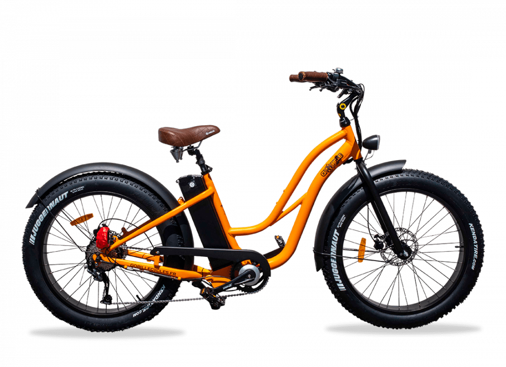 Ladies electric bike Gorille 25km/hr 520Wh Orange