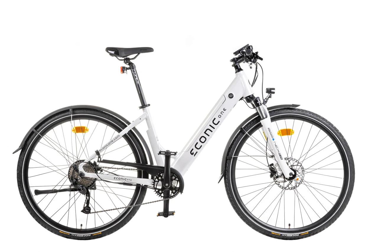 Ladies Electric Bike Econic One Comfort M 44cm White