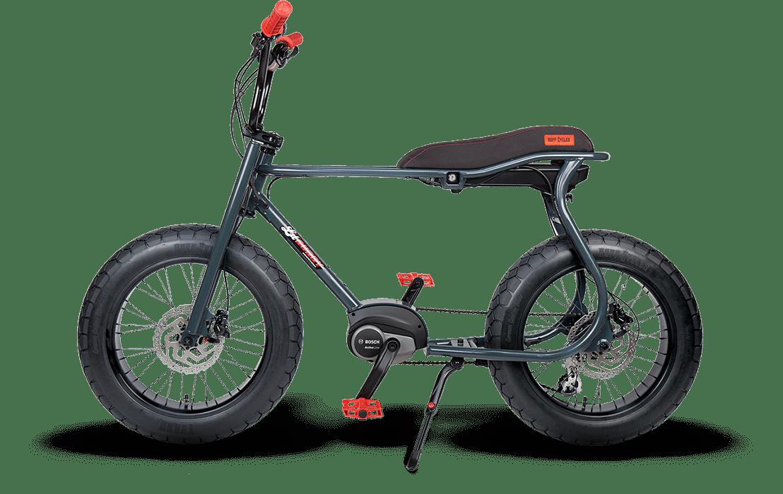 Ruff Cycles Retro Electric Fat Bike Bosch Mid Drive Lil'Buddy 500Wh Black