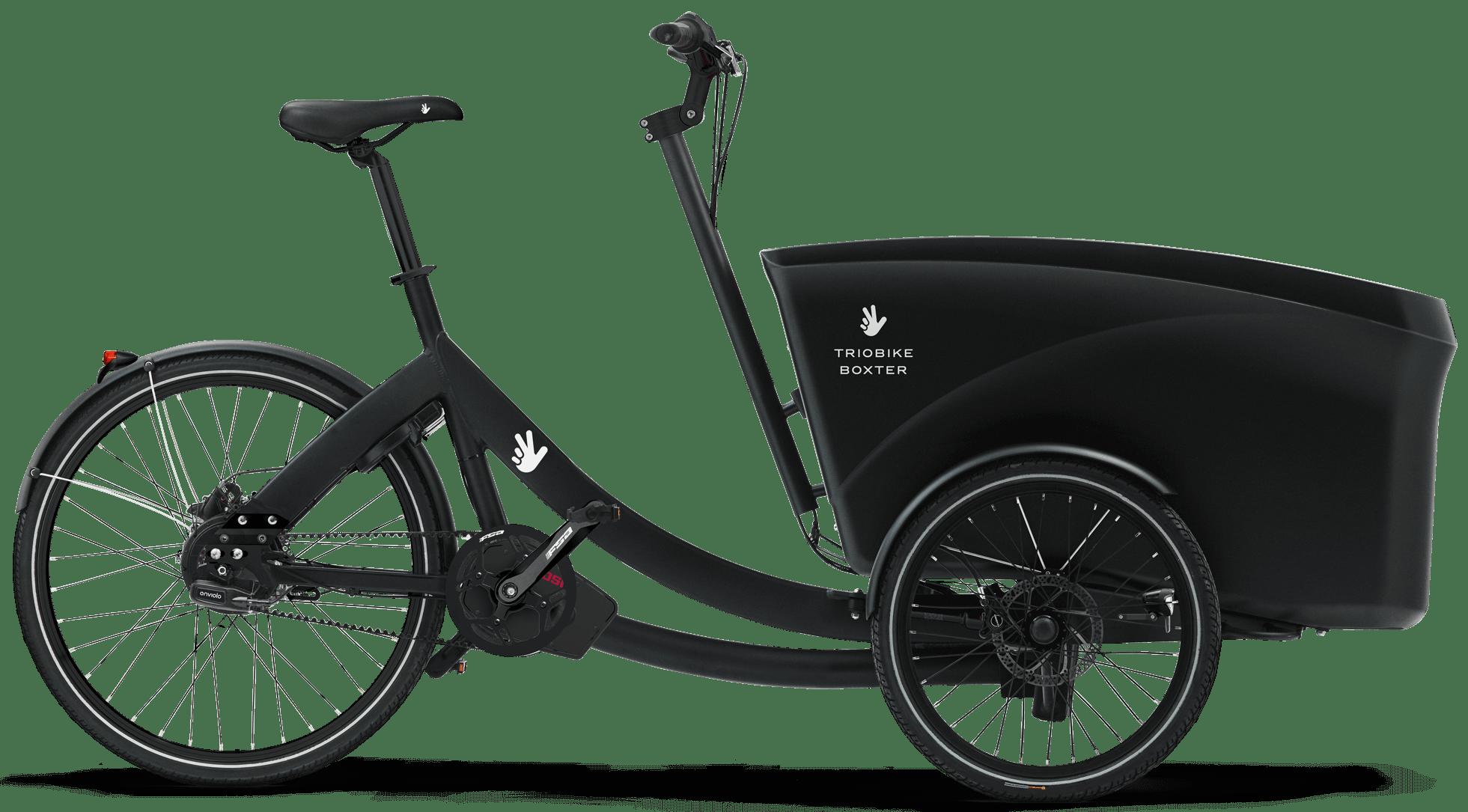 Electric Cargo Bike Triobike Boxter Mid Drive Enviolo Ca