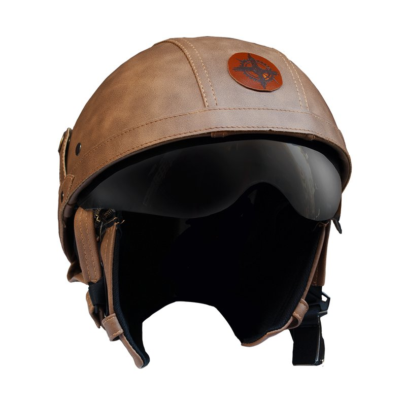 Rayvolt leather helmet braincap