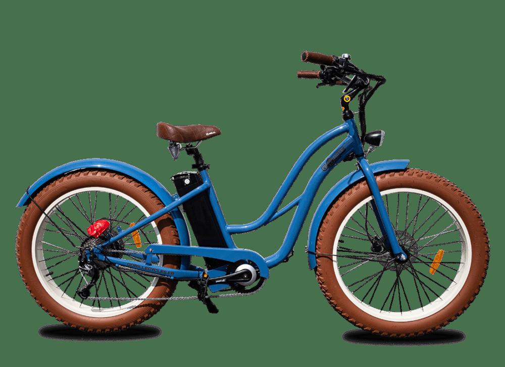 Ladies electric bike Gorille 25km/hr 410Wh Blue