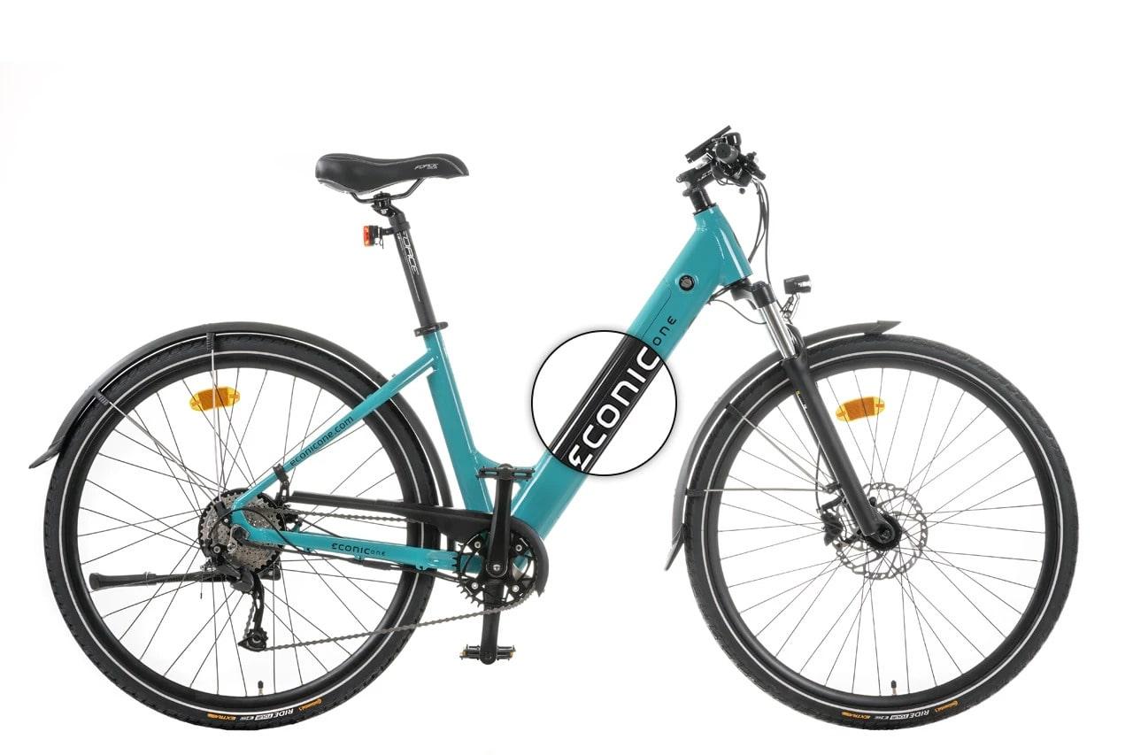 Ladies Electric Bike Econic One Comfort L 48cm Black