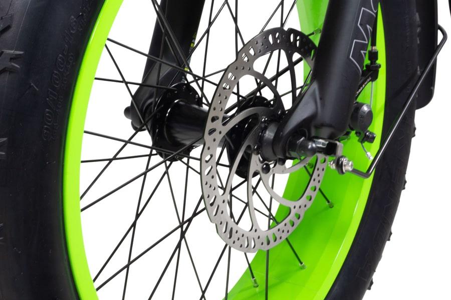 Electric Folding Bike Fat tyre Varaneo Dinky Sport Black Matt
