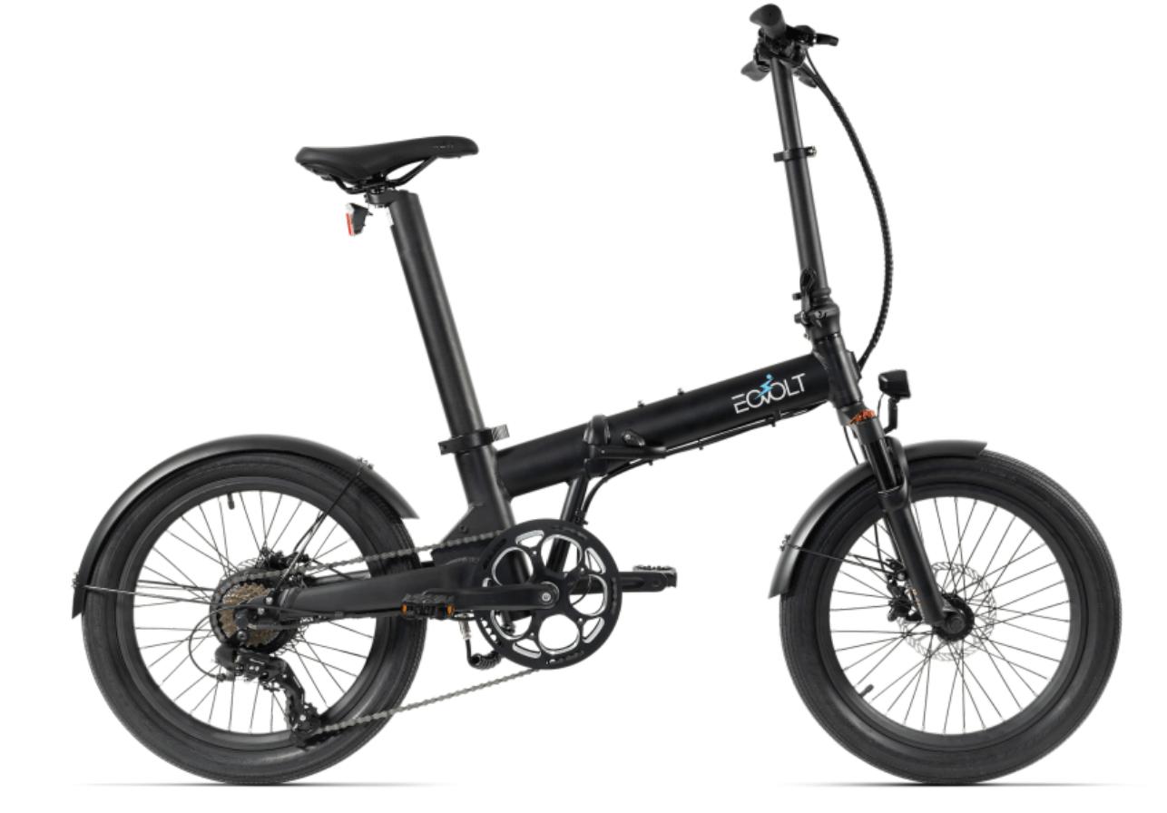 Electric Folding Bike 20 inch EOVOLT Comfort X Black