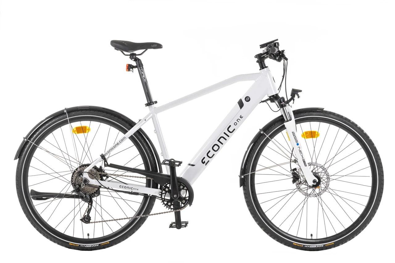Electric Hybrid Bike Econic One Urban M 44cm White