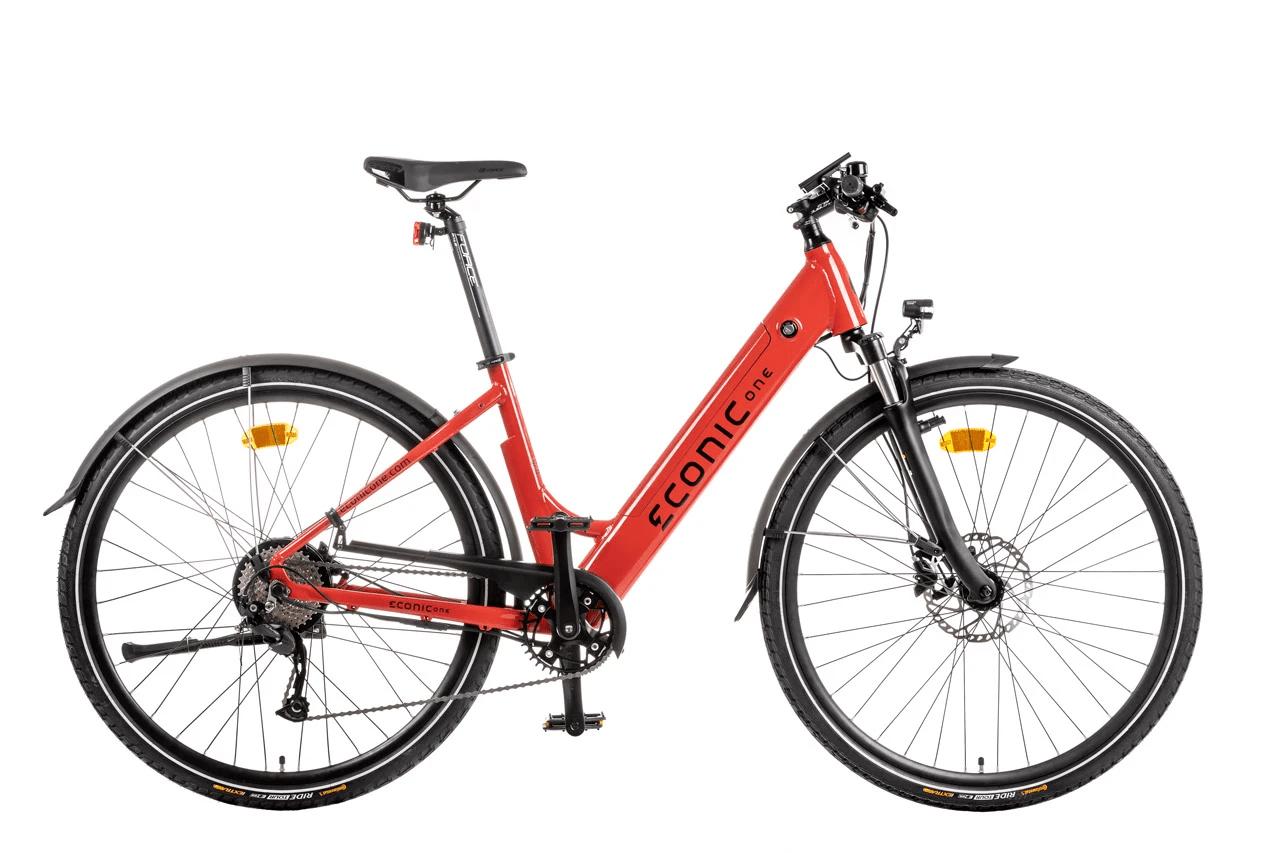 Ladies Electric Bike Econic One Comfort M 44cm Red