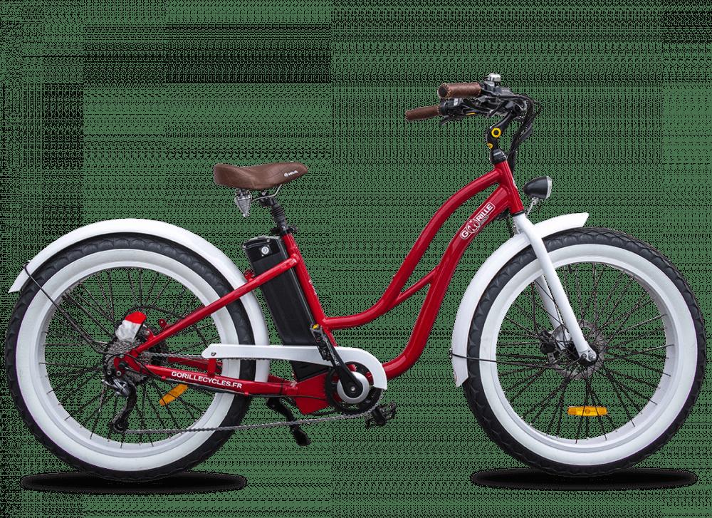 Ladies electric bike Gorille 45km/hr 980Wh Red