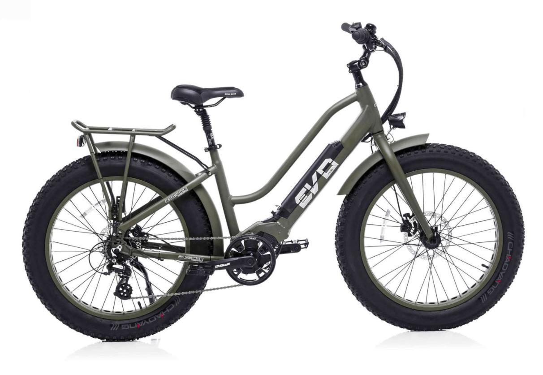 Ladies Electric Fat Bike EVO 250W Green