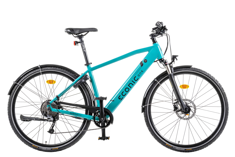 Electric Hybrid Bike Econic One Urban Smart M 44cm Turquoise