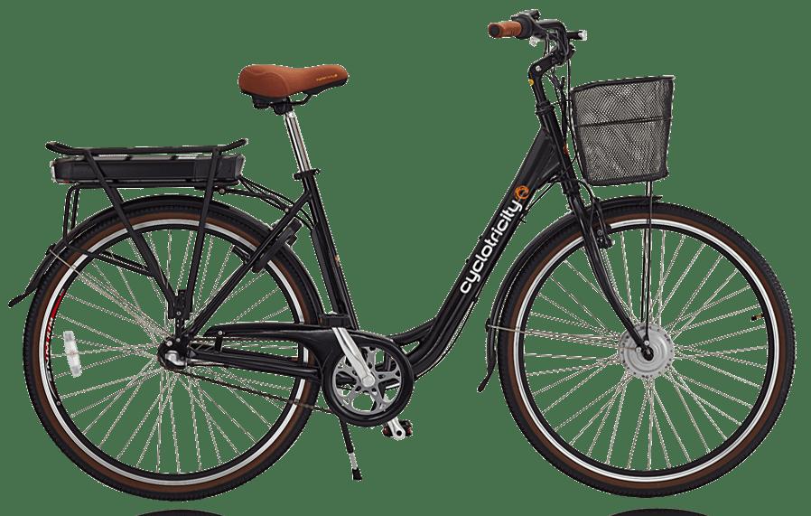 Electric ladies bike Dutch bike Sahara black 7ah