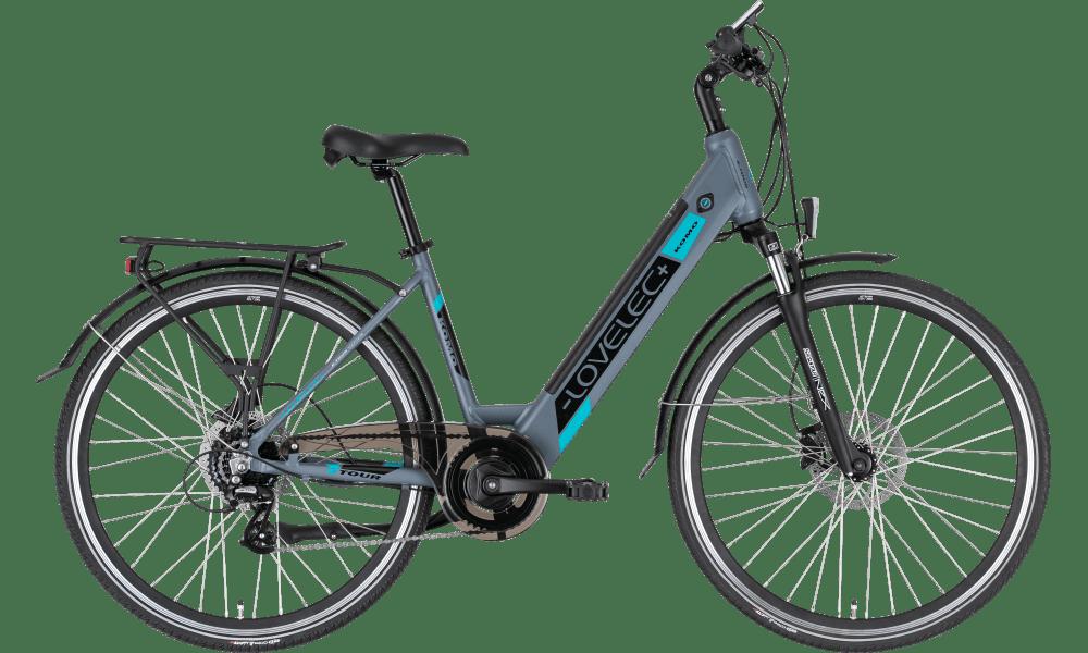"Ladies Electric Bike Step through bike 28 Inch Lovelec Komo 18"" 13ah Blue"