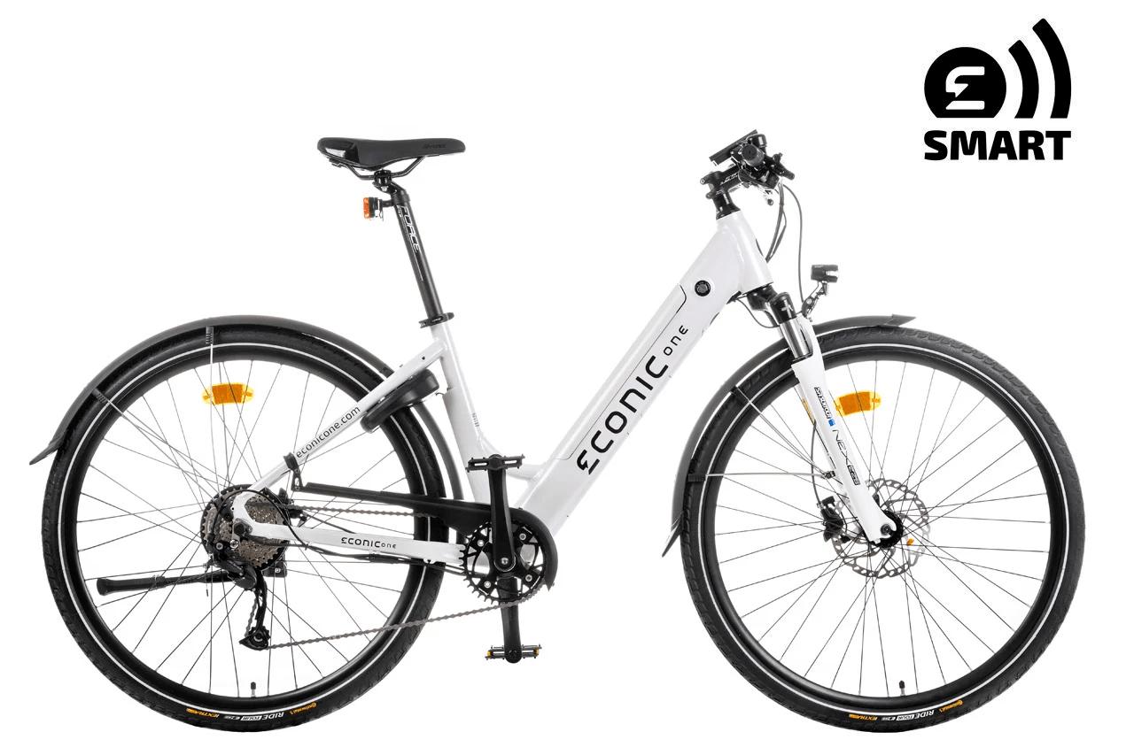 Ladies Electric Bike Econic One Smart Comfort M 44cm White