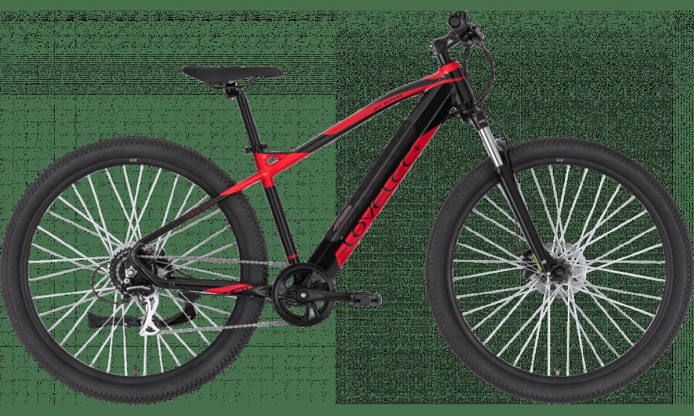 "Electric Mountain Bike 29 Inch Lovelec Alkor Red 14.5ah 17"""