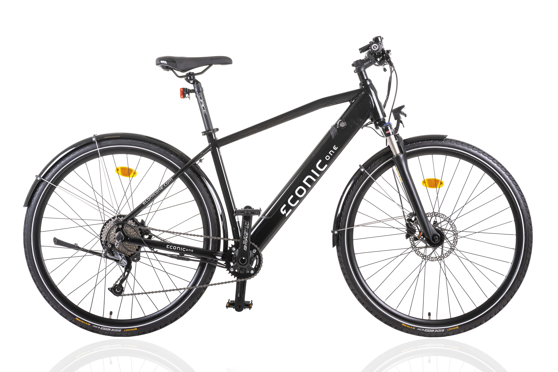 Electric Hybrid Bike Econic One Urban M 44cm Black