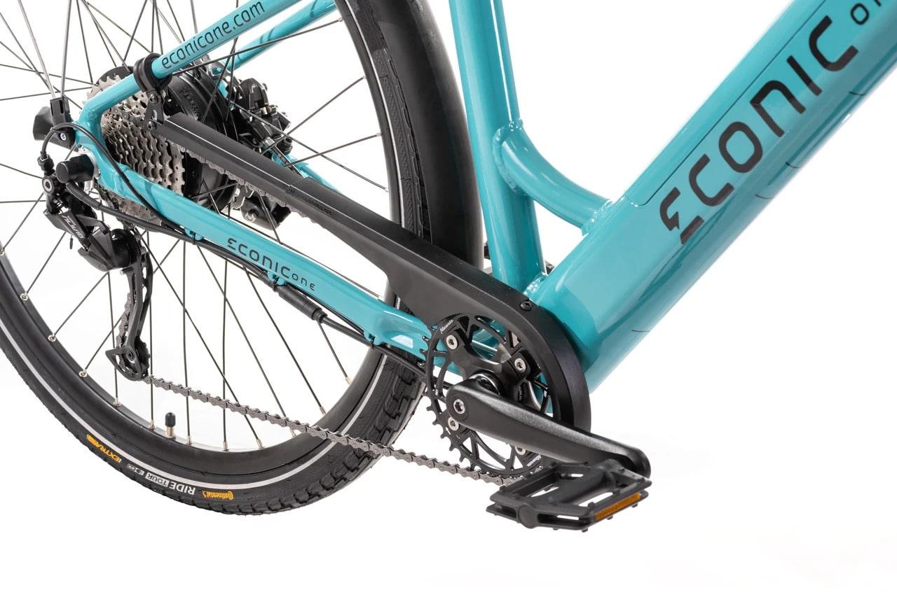 Ladies Electric Bike Econic One Comfort L 48cm Turquoise