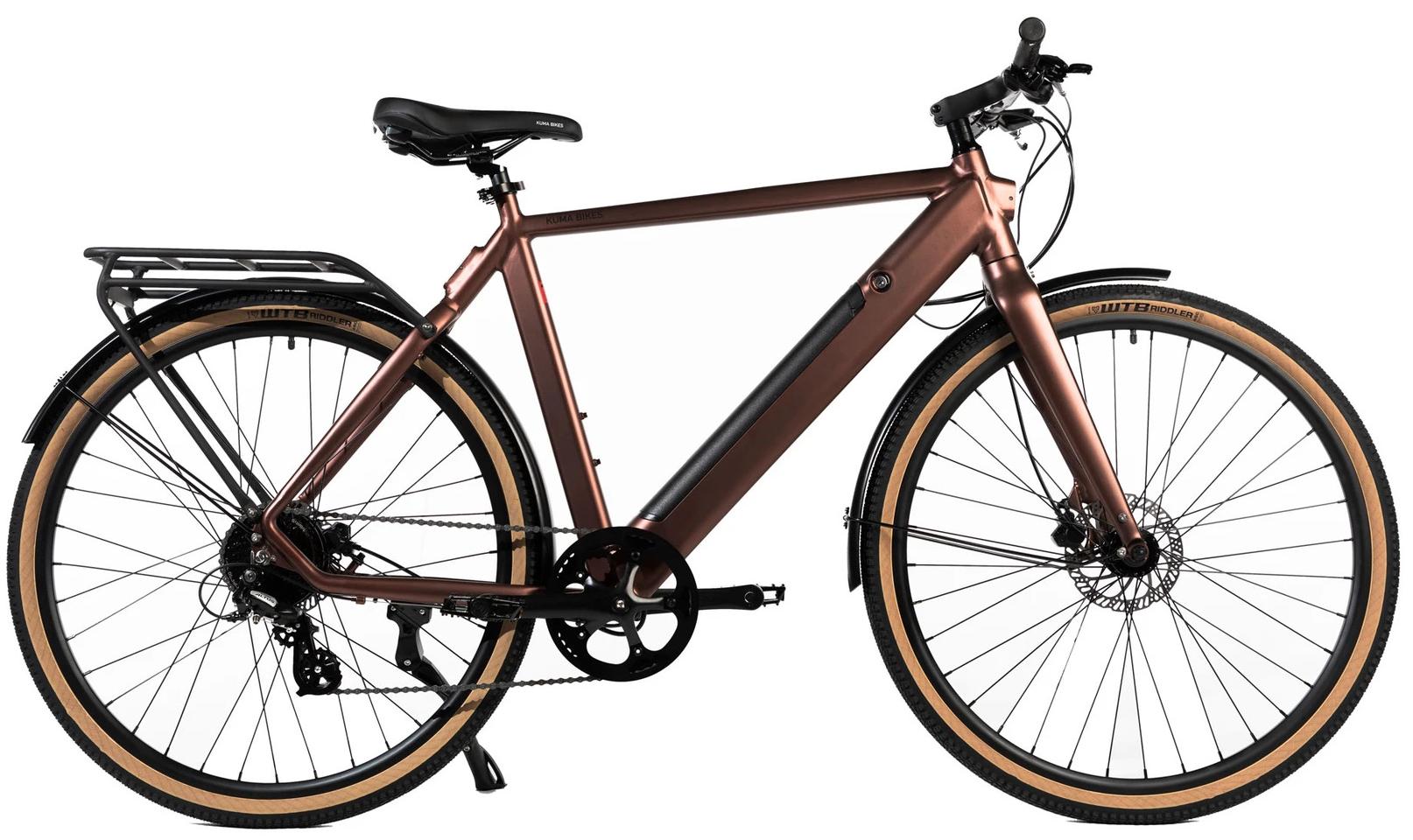 Electric Hybrid Bike Kuma R1 Copper