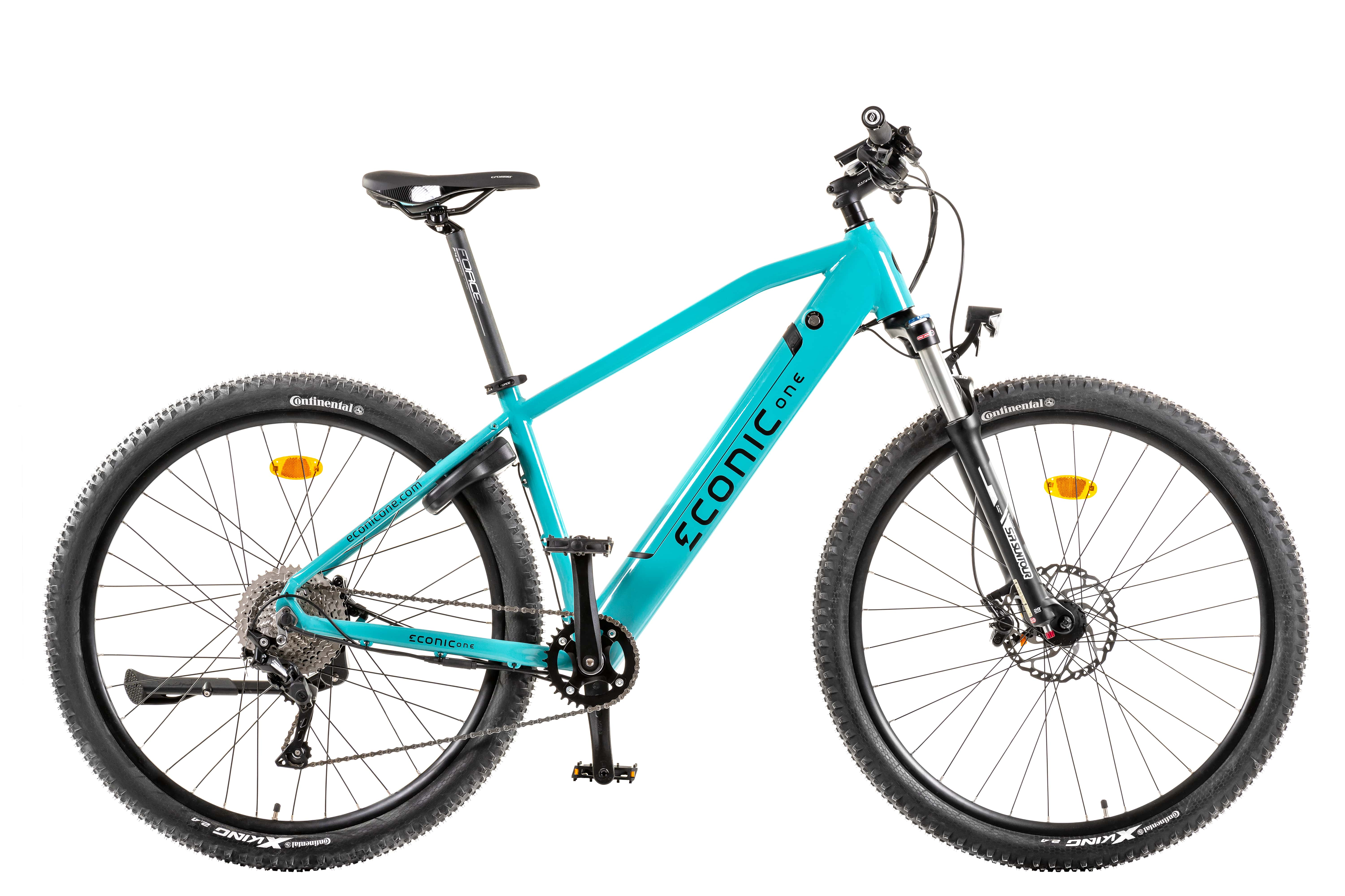 Electric Hardtail Mountain Bike Econic One XC Smart M 44cm Turquoise