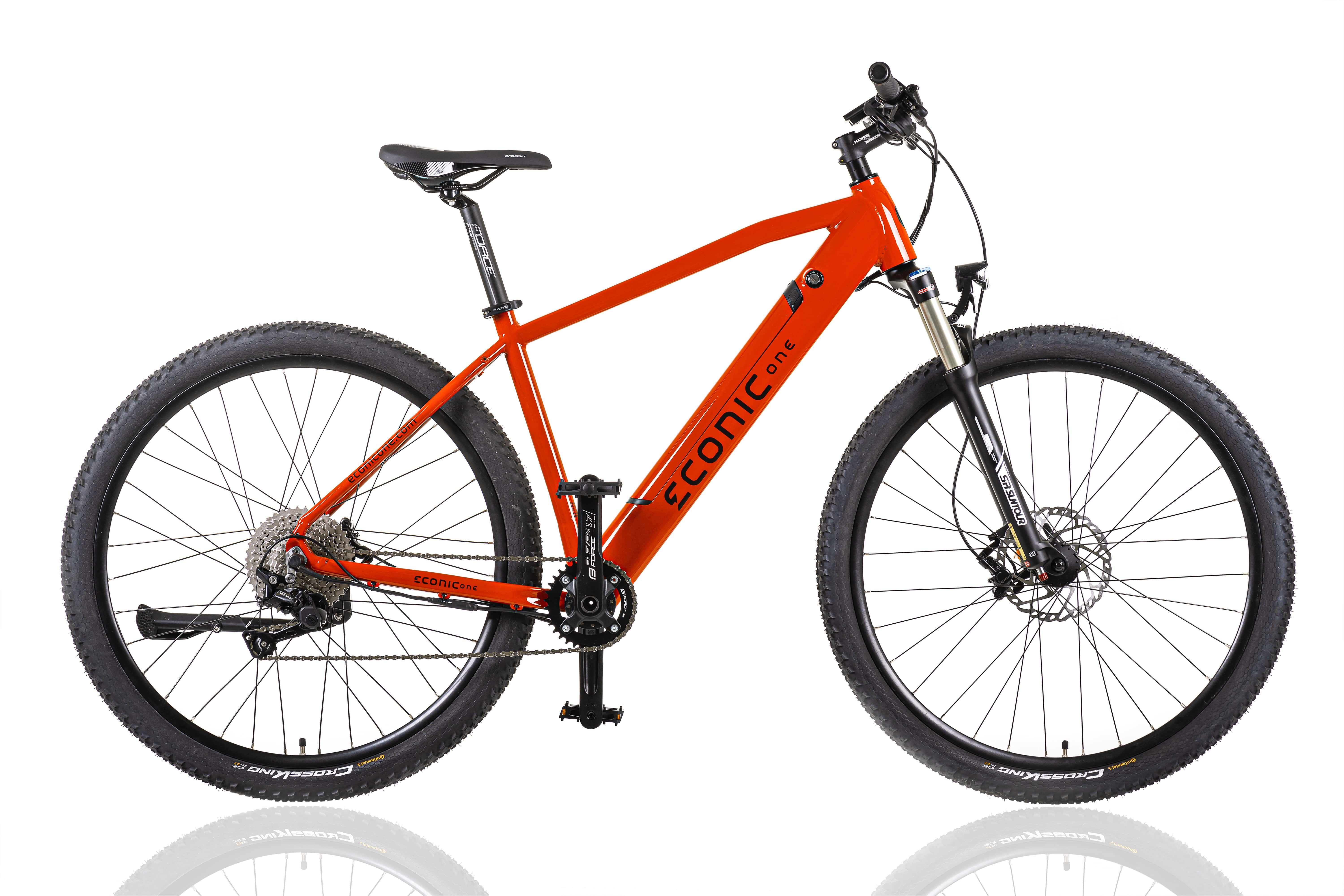 Electric Hybrid Bike Econic One Cross-country XL 52cm Red