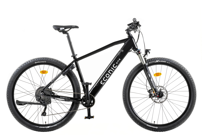 Electric Hybrid Bike Econic One Cross-country Smart L 48cm Black