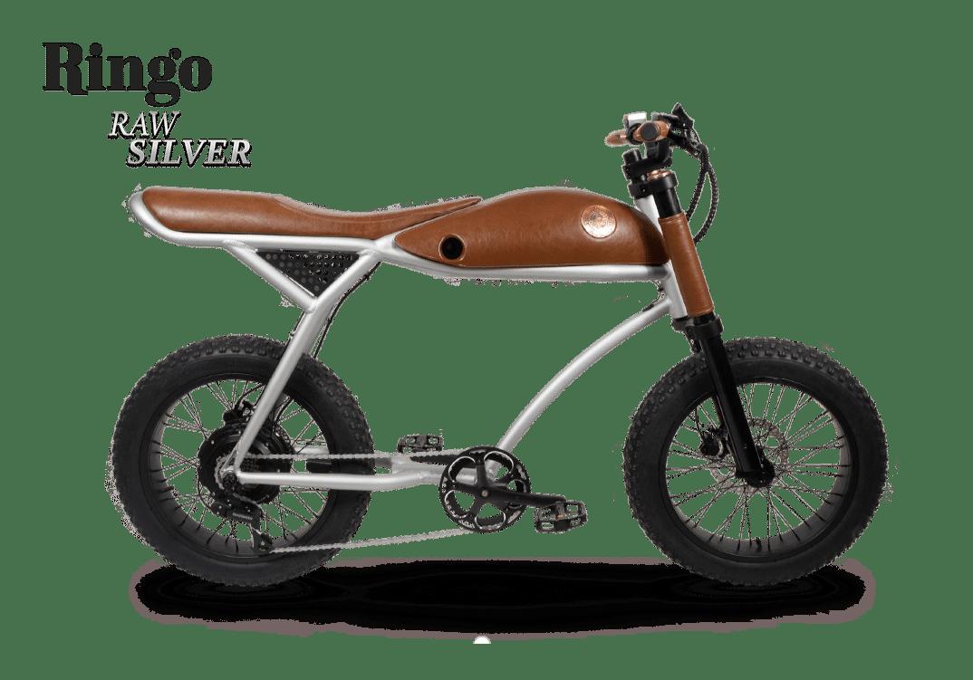 Rayvolt Retro Electric Fat Bike Vintage Ringo Aluminium 380Wh