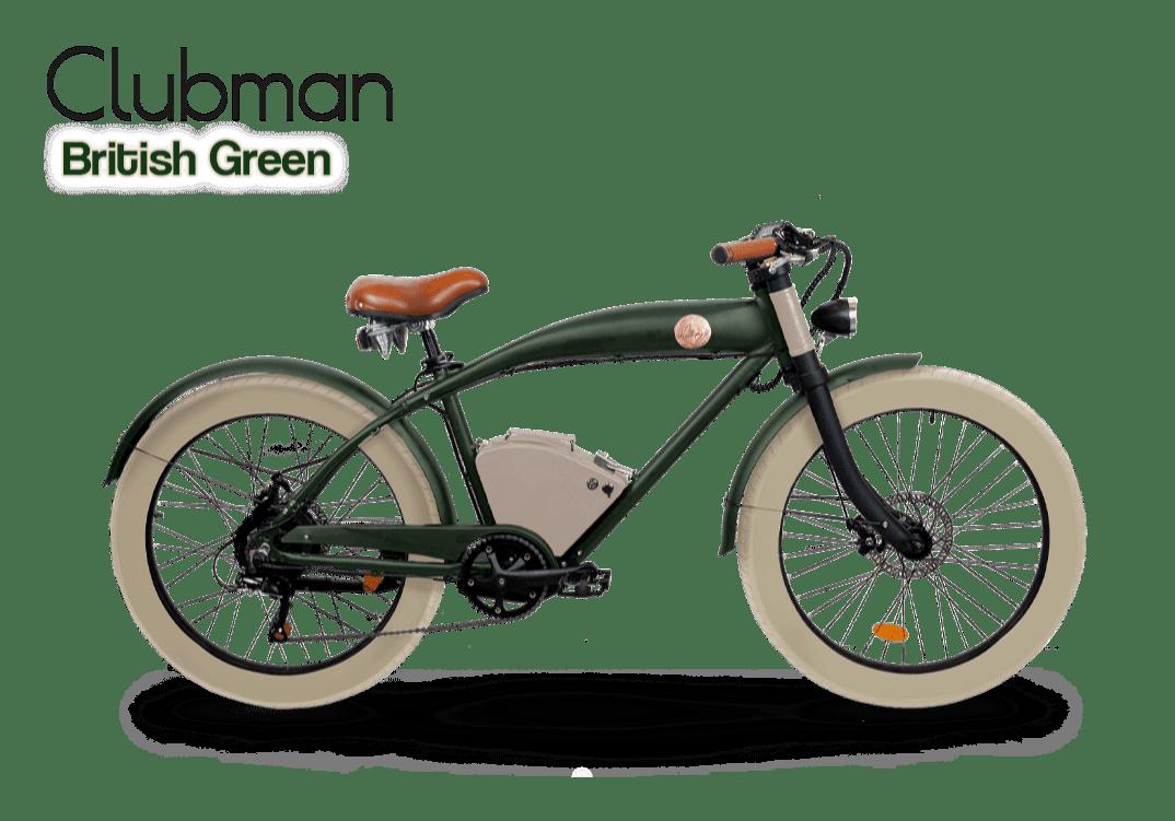 Rayvolt E Bike Cruiser Clubman Green 540Wh