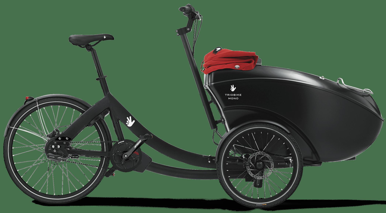 Electric Cargo Bike Triobike Mono Mid Drive Enviolo Ca