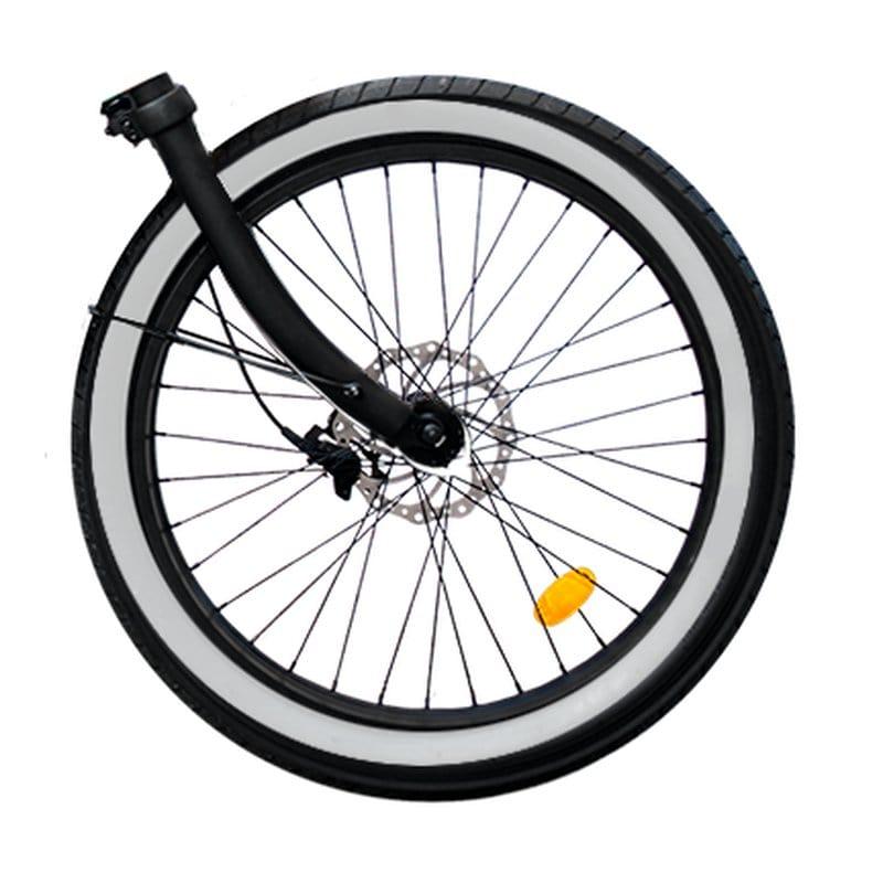 Rayvolt white tyre accent set