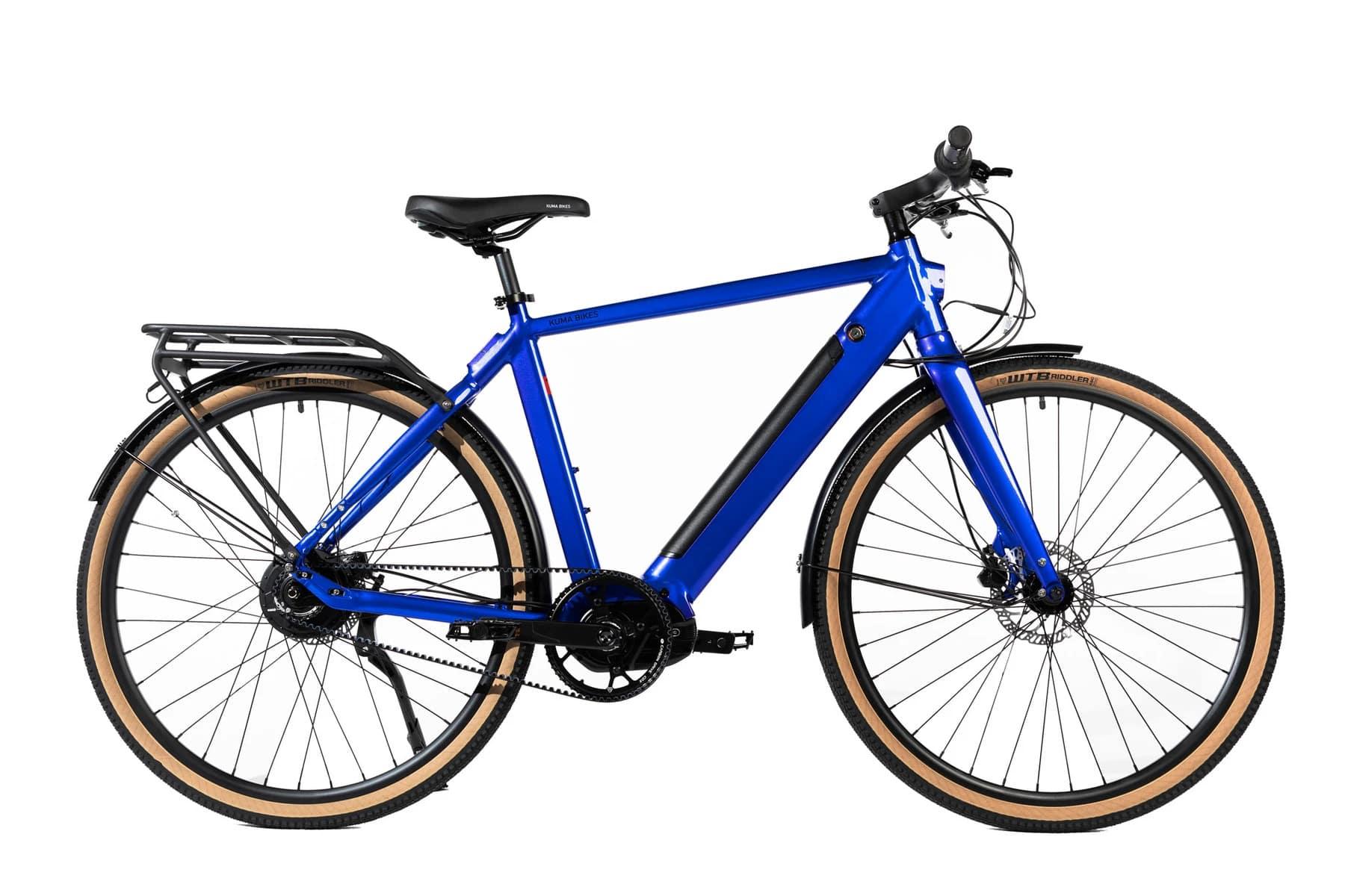 Electric Hybrid Bike Kuma M1 Blue
