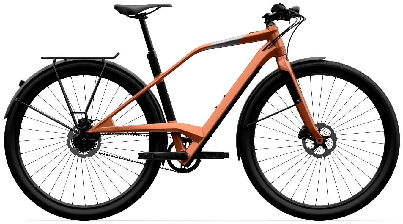 Smart Electric Hybrid Bike Logo XD02 Gold M