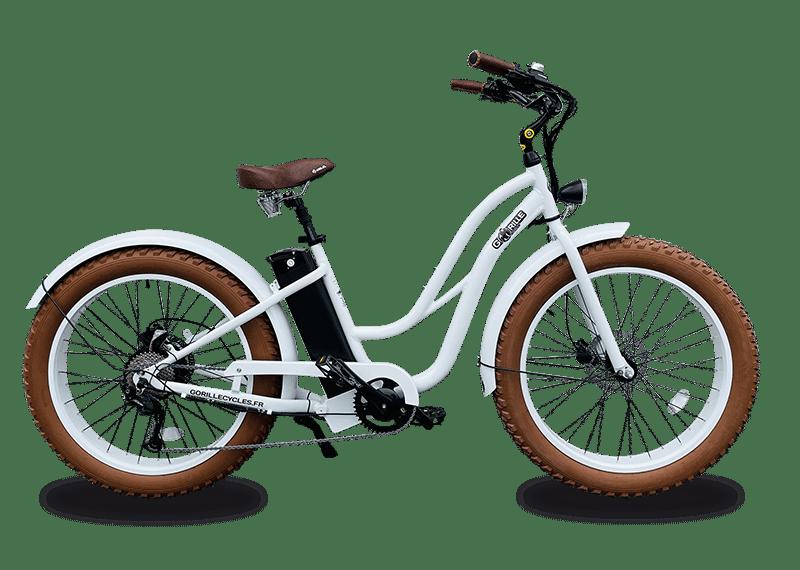 Ladies electric bike Gorille 45km/hr 980Wh White