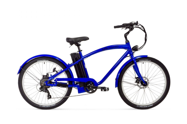 Electric Cruiser Bike Varaneo Beachcruiser Blue