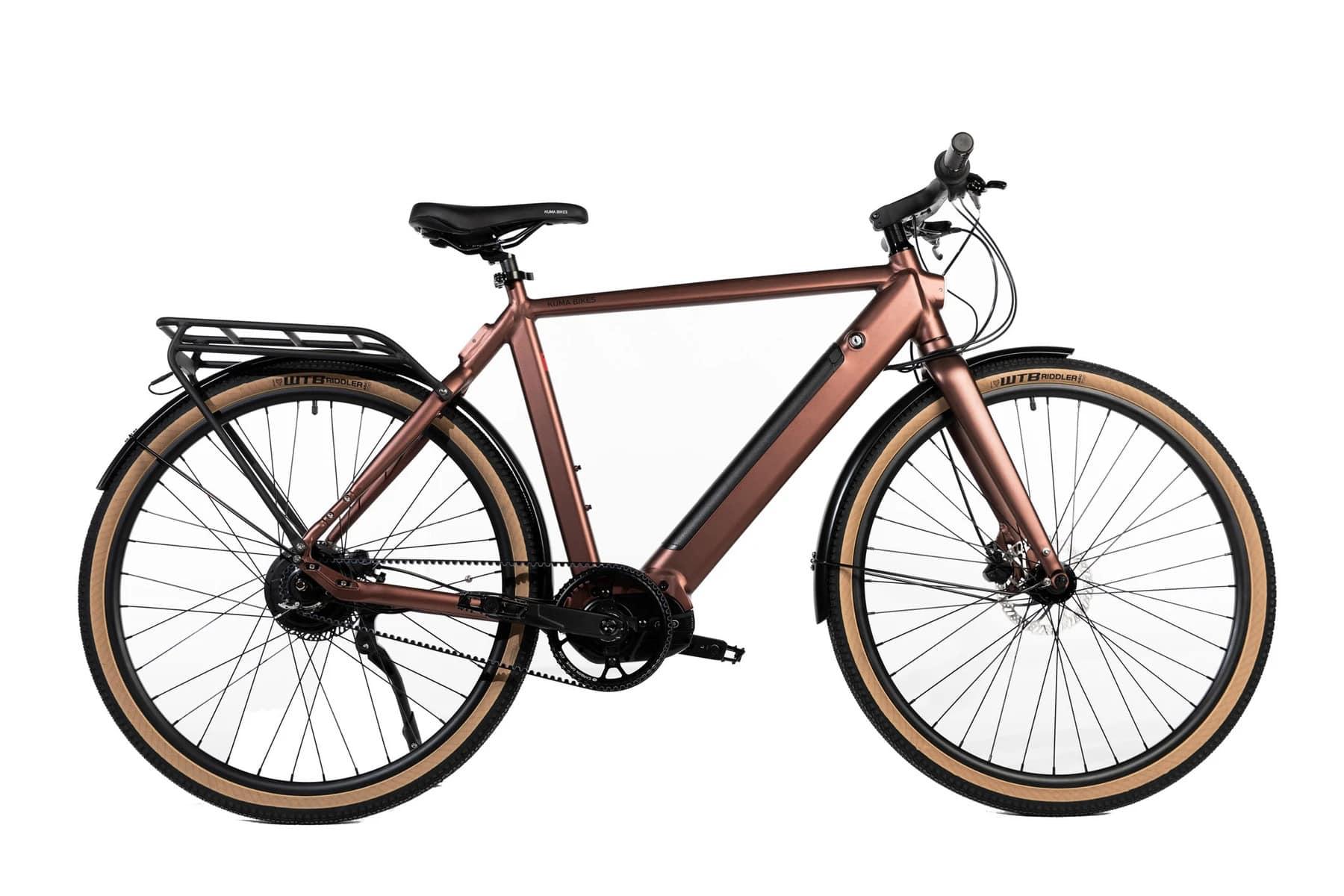 Electric Hybrid Bike Kuma M1 Copper