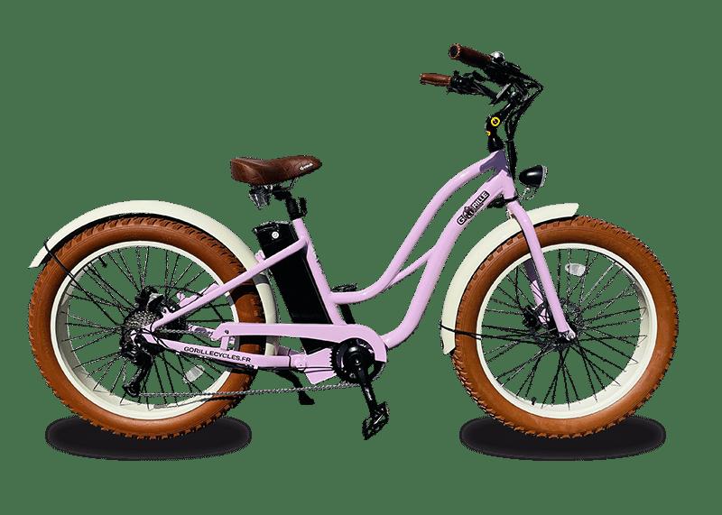 Ladies electric bike Gorille 45km/hr 980Wh Pink