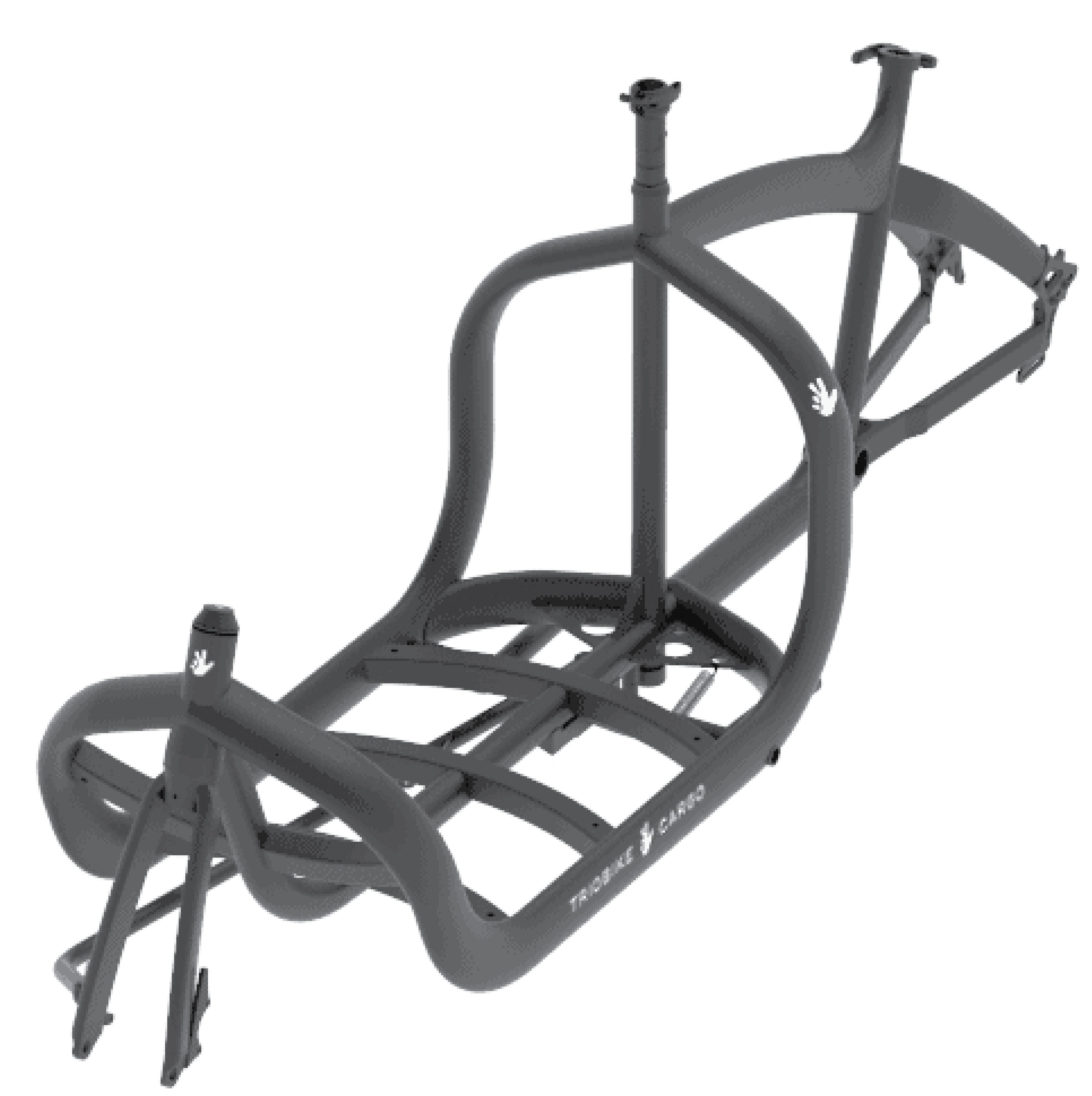 Electric Cargo Frame kit Triobike Black