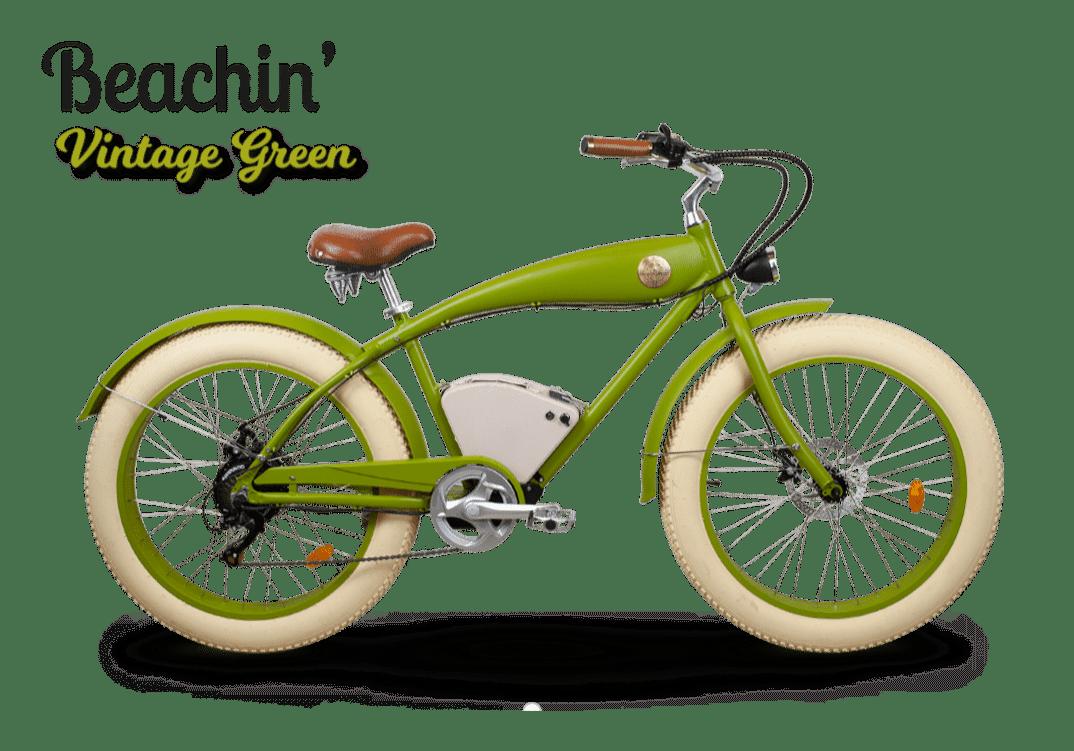 Rayvolt E Fatbike Beachin Bright Green 360Wh