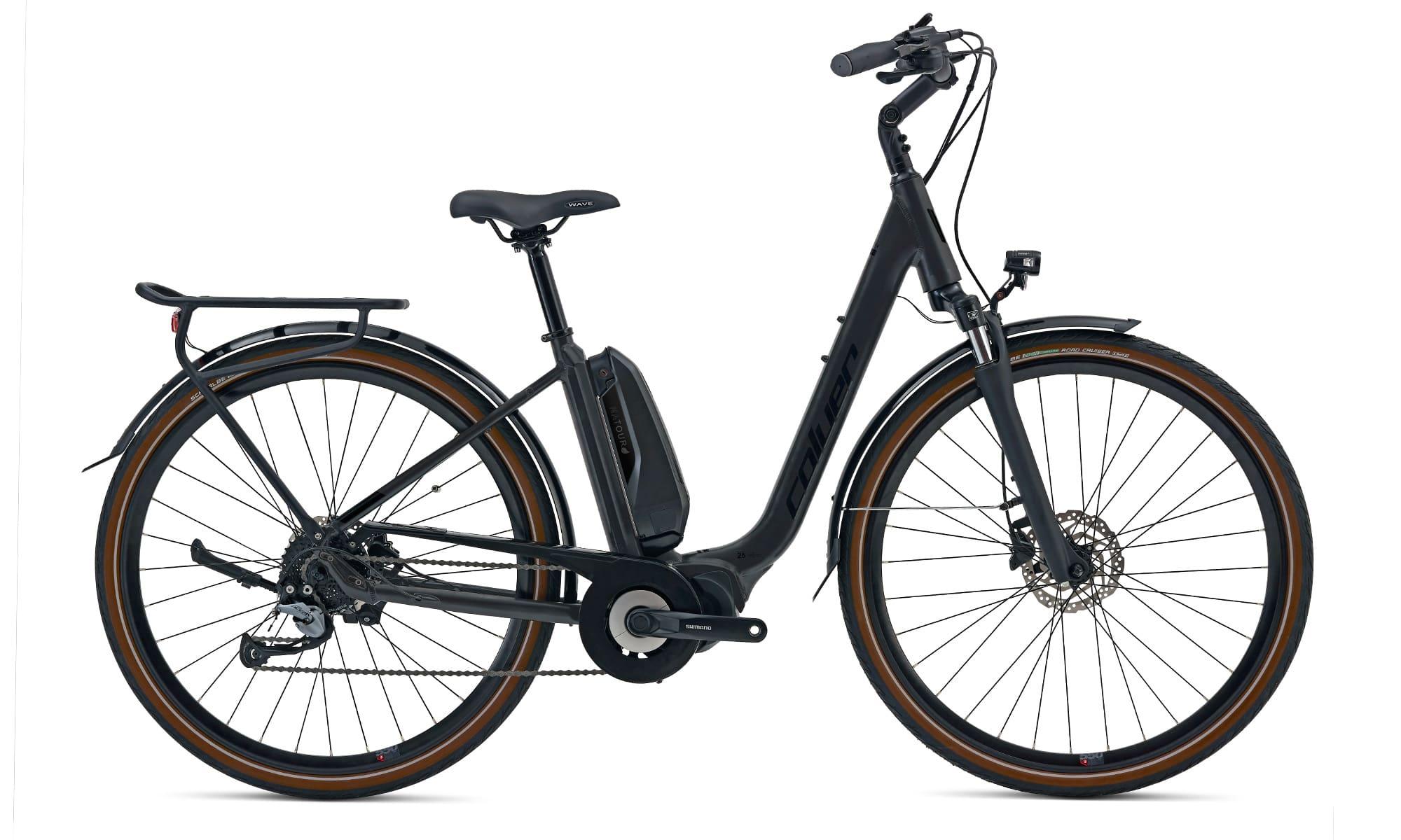 Mid Drive Ladies electric bike Coluer Natour Black