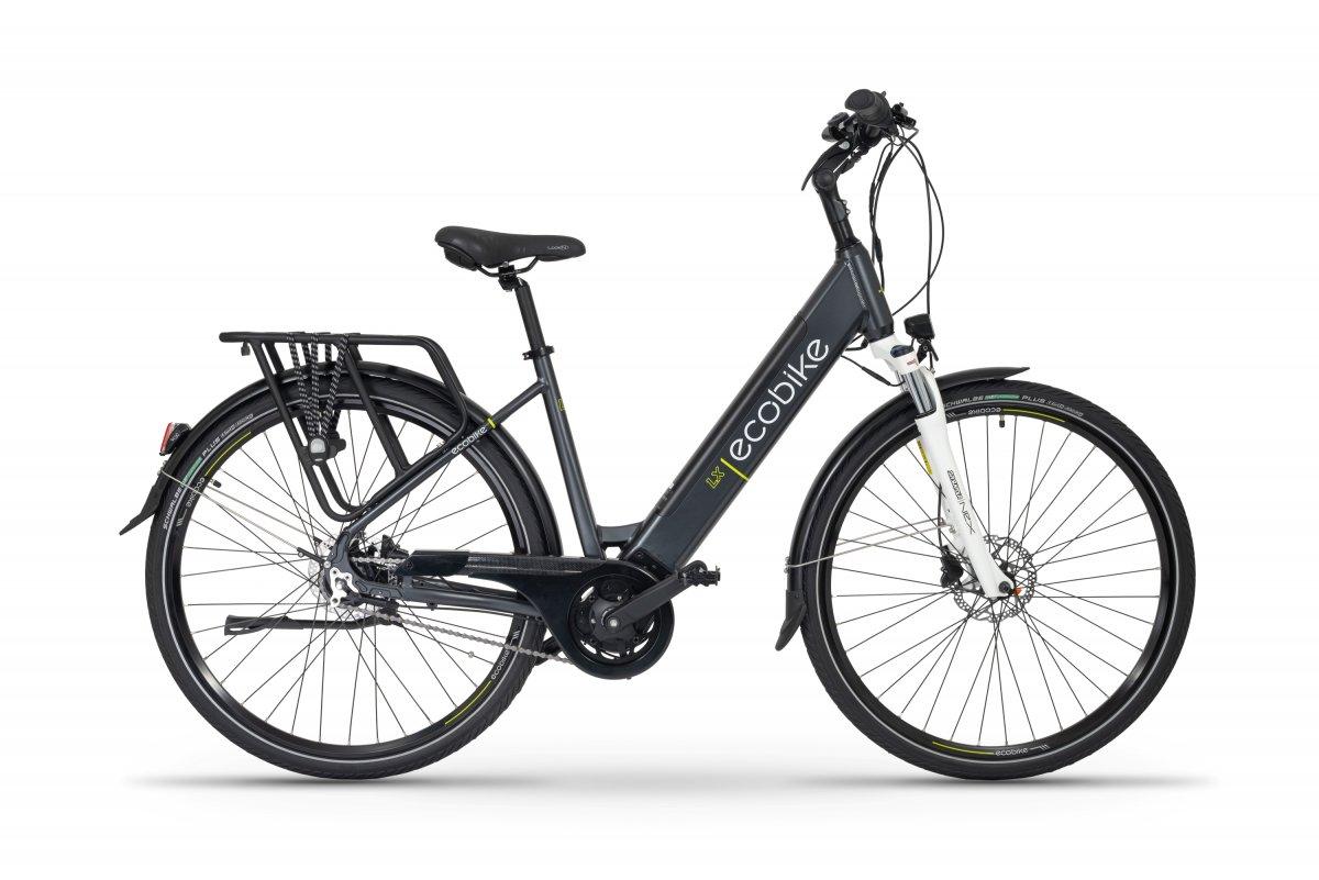 Electric Ladies Bike 28 inch Mid drive Ecobike LX Dark Blue 500Wh