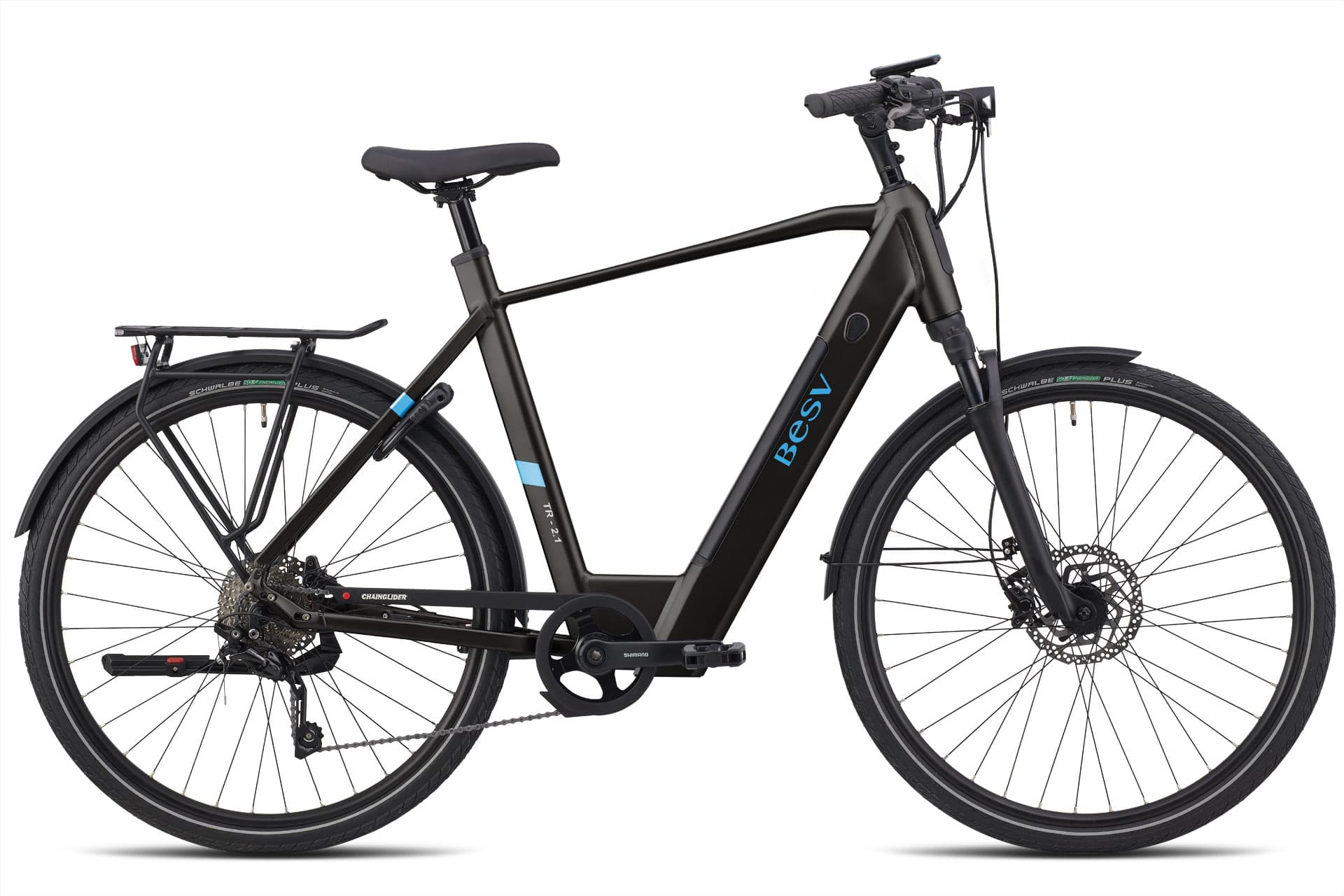 Electric Trekking Bike BESV TR 2.1 black XL 60cm