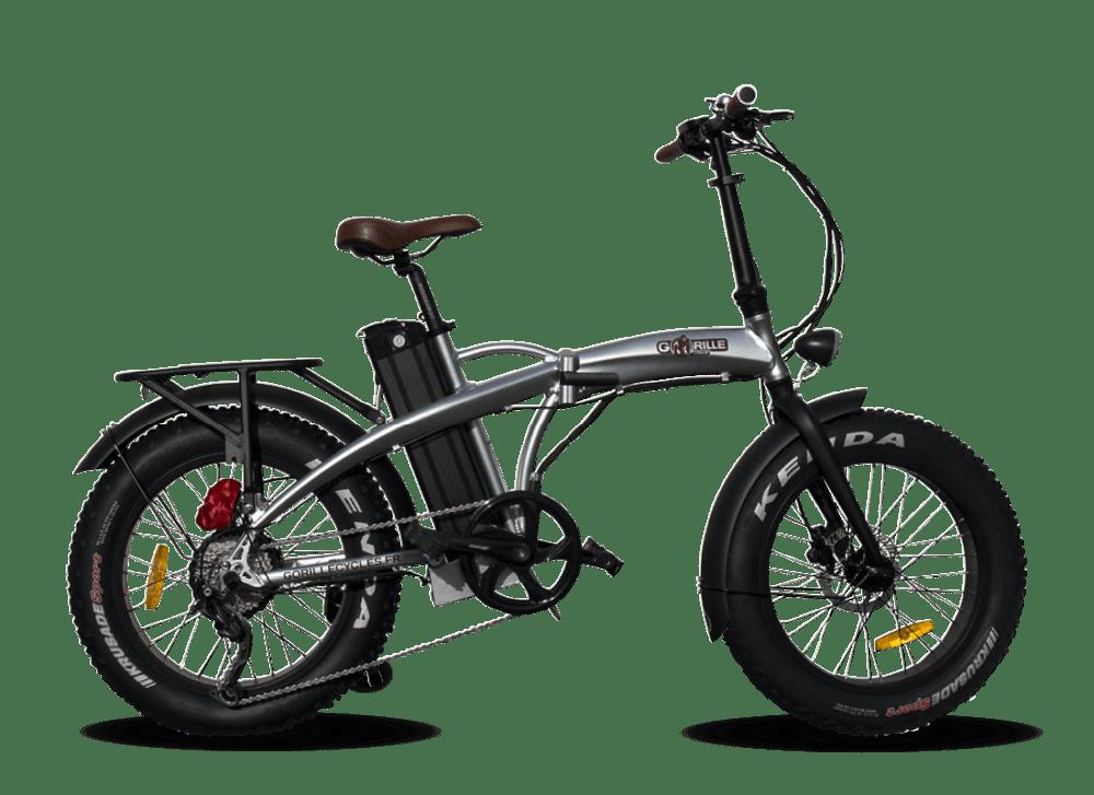 "Electric Folding Fat Bike Gorille Baby 20"" 730Wh Aluminium 25km/hr"