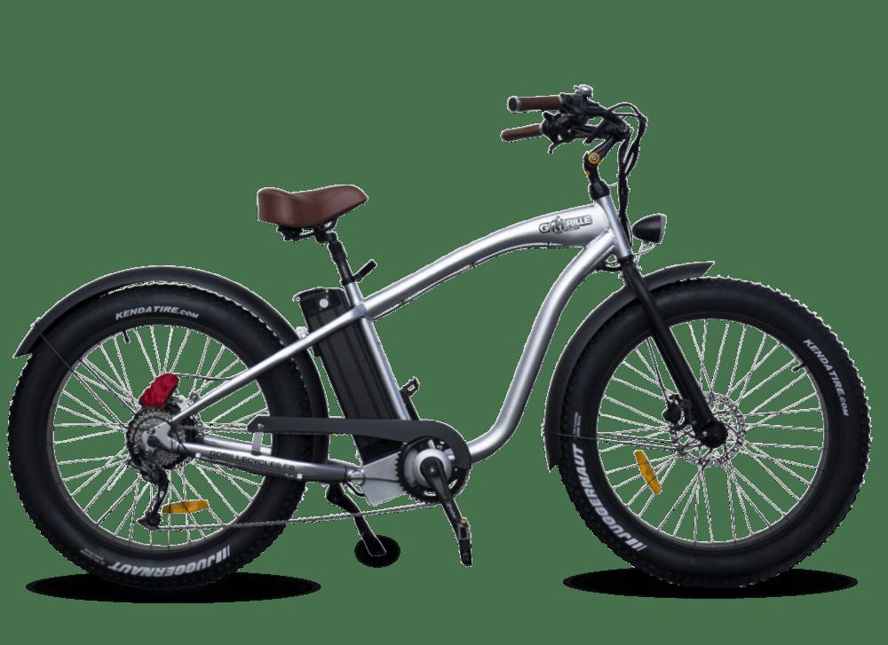 Electric Fat Bike Beach Cruiser Gorille 410Wh Aluminium