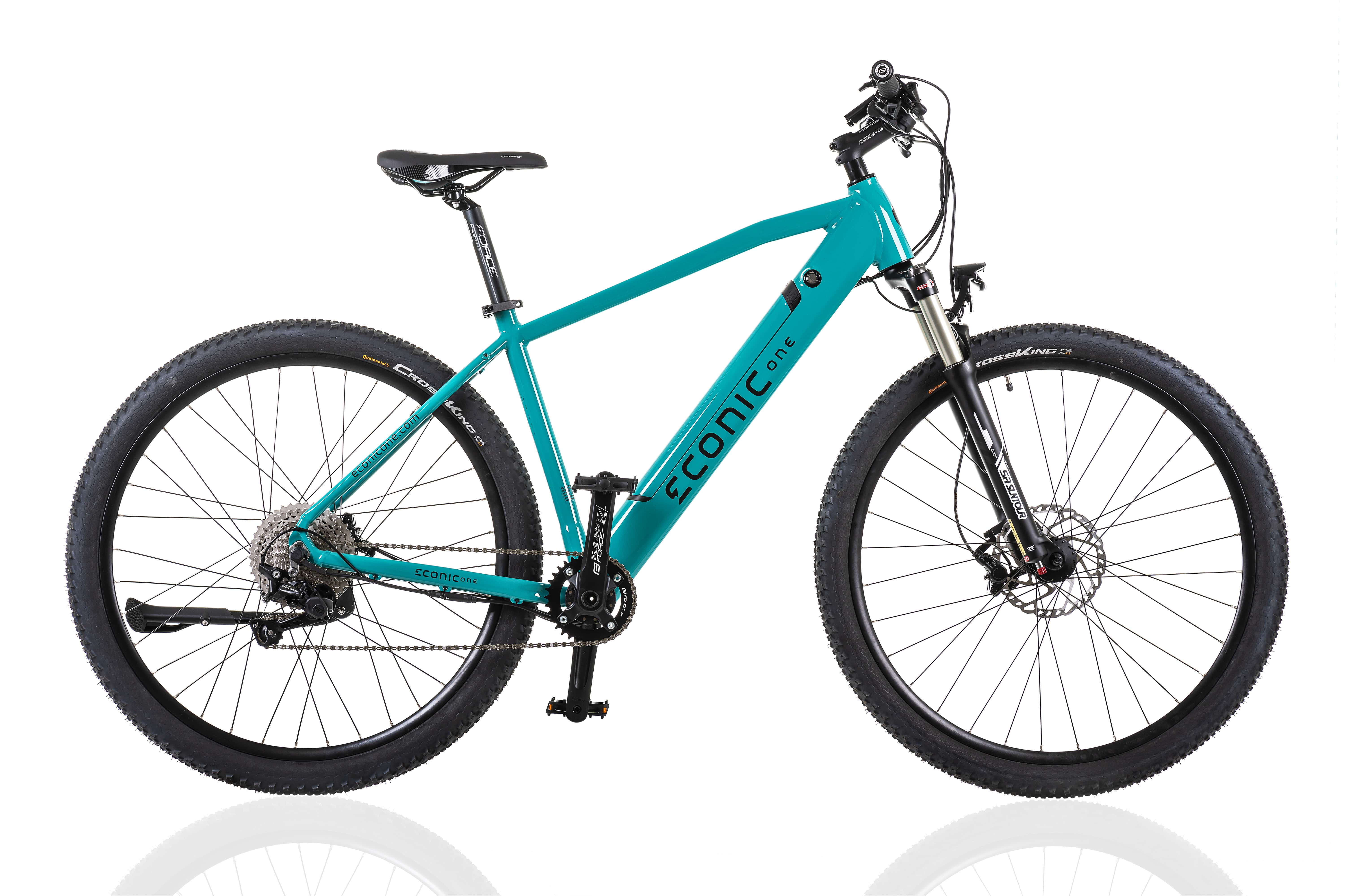 Electric Hybrid Bike Econic One Cross-country L 48cm Turquoise