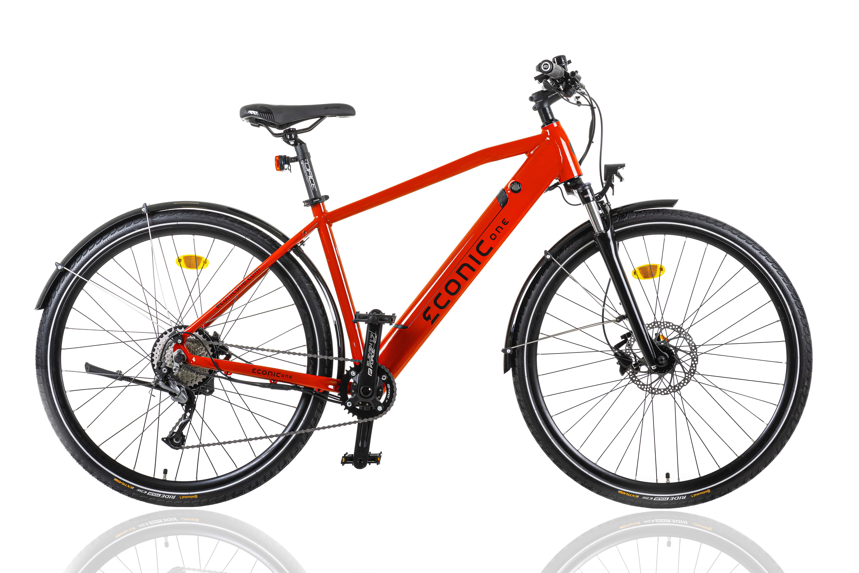 Electric Hybrid Bike Econic One Urban M 44cm Red