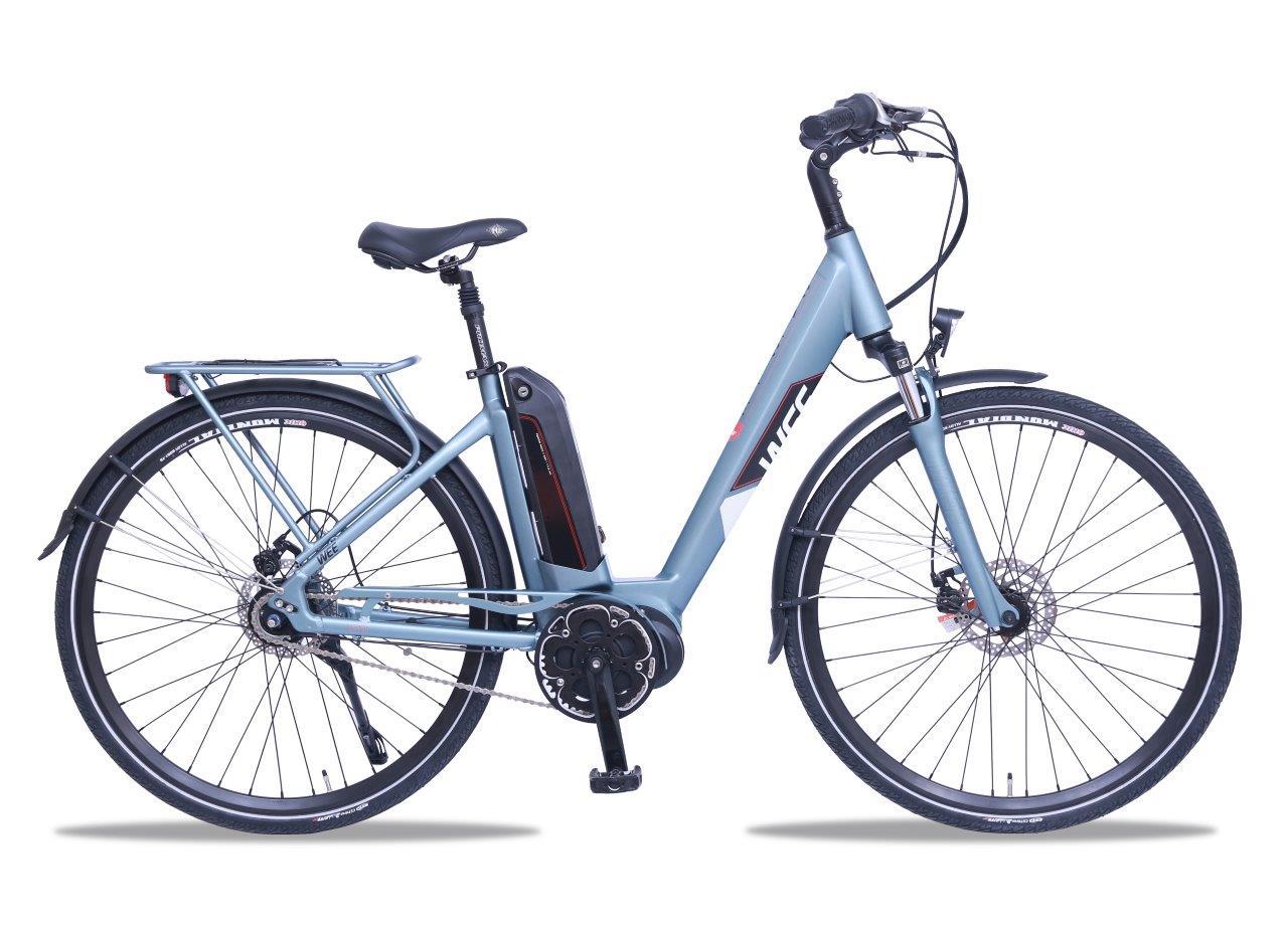 Smart Electric ladies bike Geobike WEE Calcite 630Wh