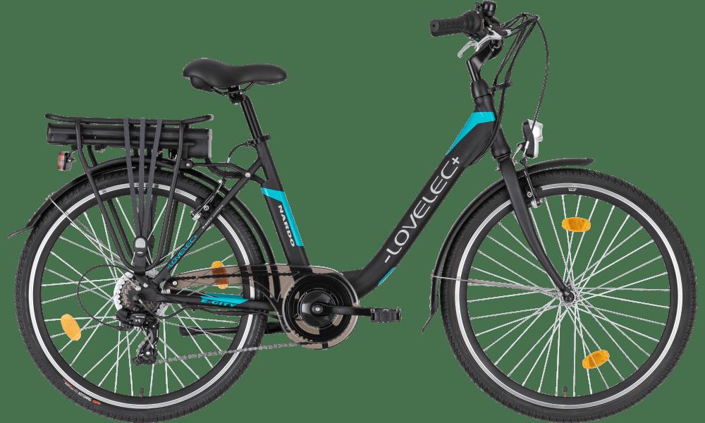 Ladies Electric Bike 26 Inch Step through bike Nardo Blue