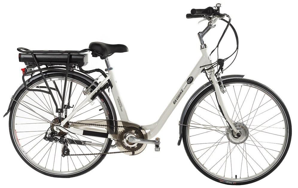 Smart Electric ladies bike Geobike Touring Fresh white 374Wh