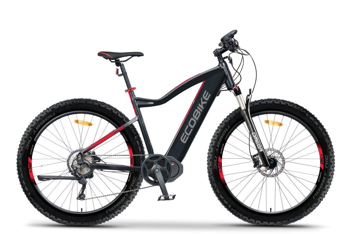 Electric Mountain Bike Mid Drive Speed Pedelec 45km/h Ecobike RX500 M 624Wh