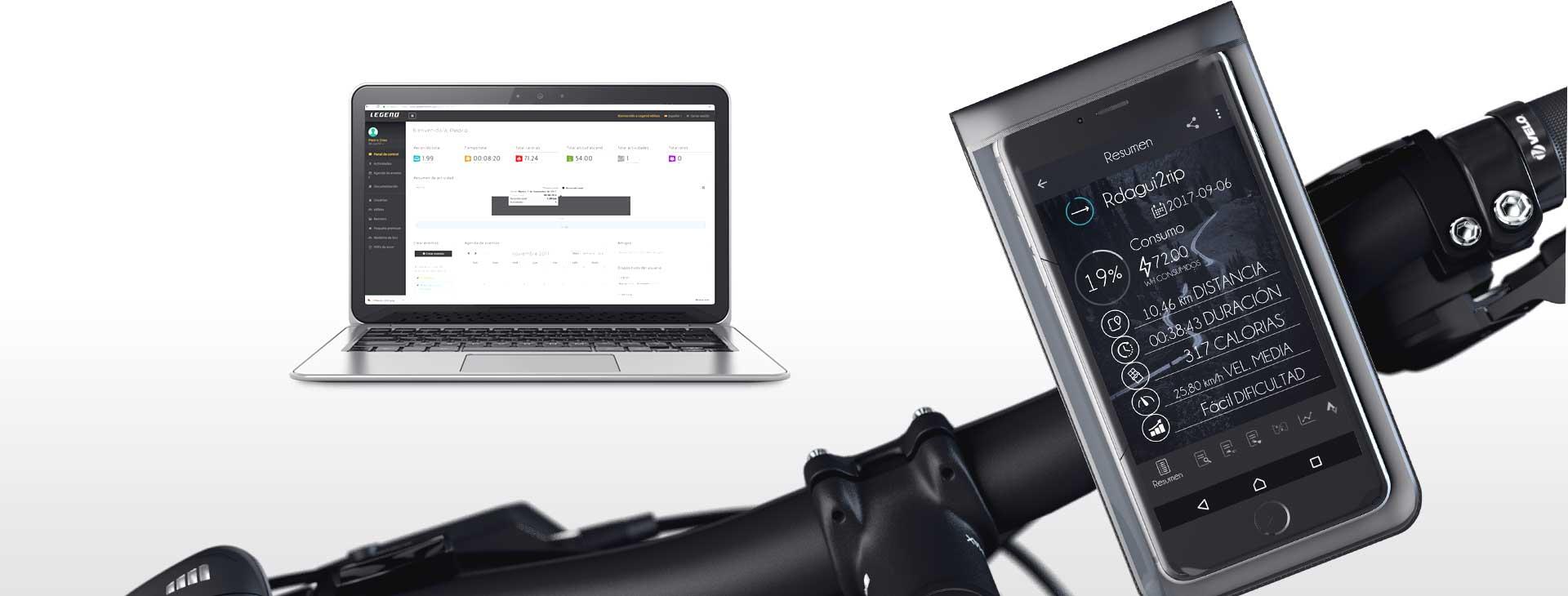 Smart Legend Etna Folding Electric Mountain Bike 500W Standard Battery 10.4ah Black