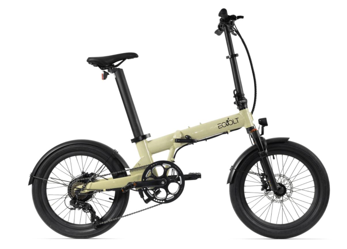 Electric Folding Bike 20 inch EOVOLT Comfort X Gold