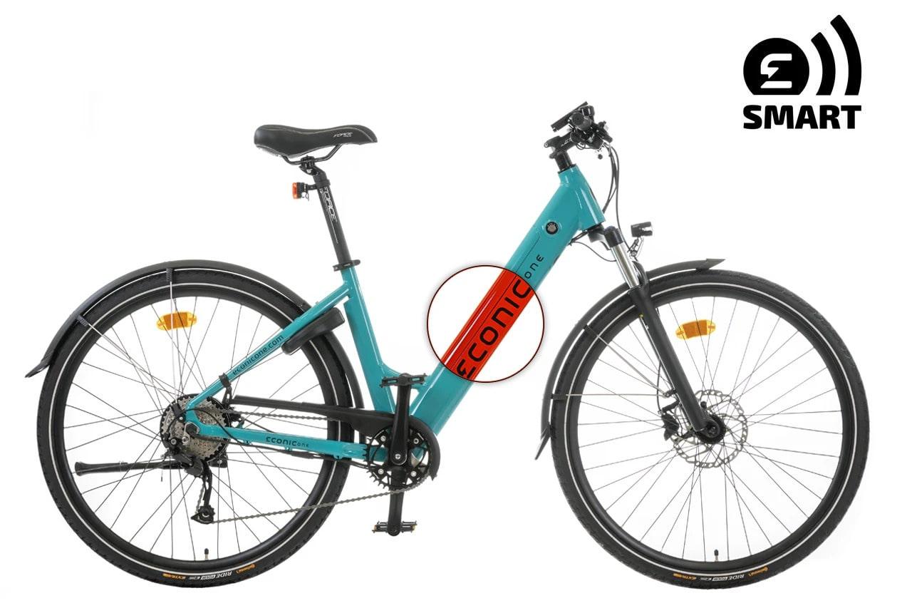 Ladies Electric Bike Econic One Smart Comfort M 44cm Red